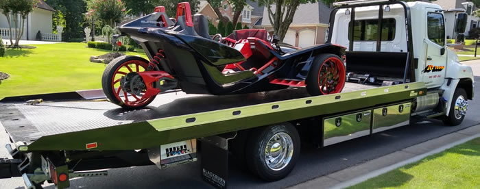 Motorcycle Towing in McKinney